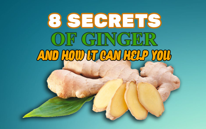 Ginger Health Secrets
