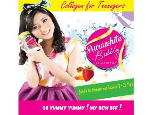 AuraWhite Bubbly Collagen for Teenage Girls