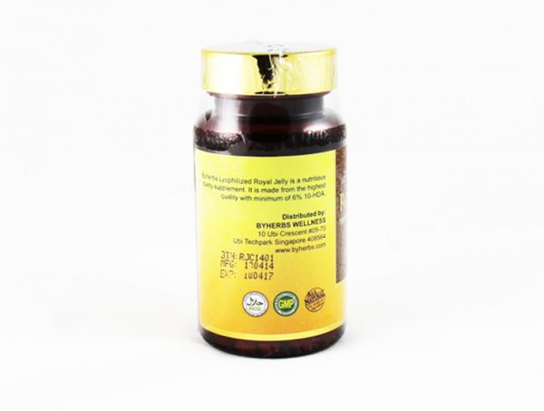 ByHerbs Royal Jelly - Halal Health Supplements