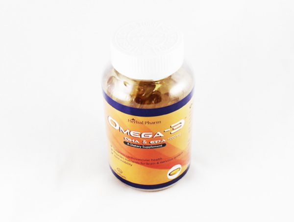 Herbal Pharm Omega 3 DHA & EPA - Halal Health Supplements
