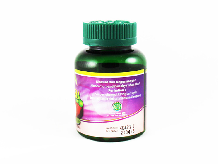 Herbaco Garsina Mangosteen Skin Extract - Halal Health Supplements