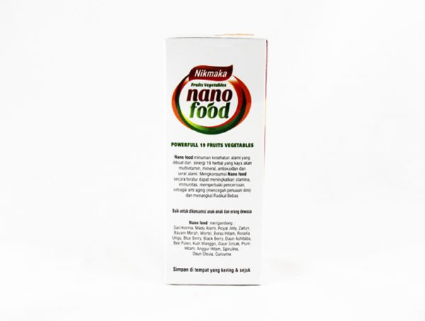 Nikmaka Fruits & Vegetables Nano Food - Halal Health Supplements