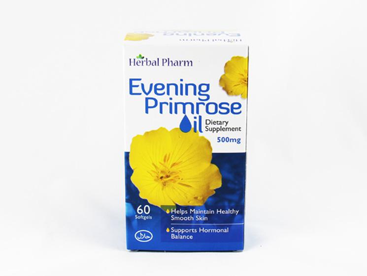 Herbal Pharm Evening Primrose Oil - Halal Health Supplements