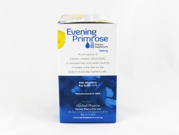 Herbal Pharm Evening Primrose Oil - Halal Health Supplements
