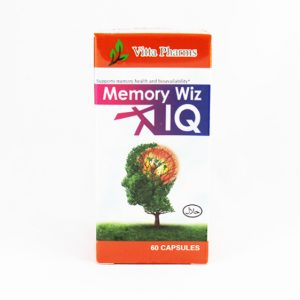 Vitta Pharms Memory Wiz IQ - Halal Health Supplements