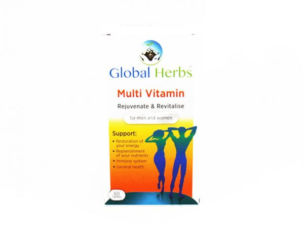 Global Herbs Multi Vitamin - Halal Health Supplements