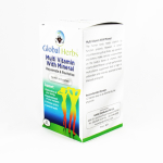 Global Herbs Multi Vitamin with Mineral - Halal Health Supplements
