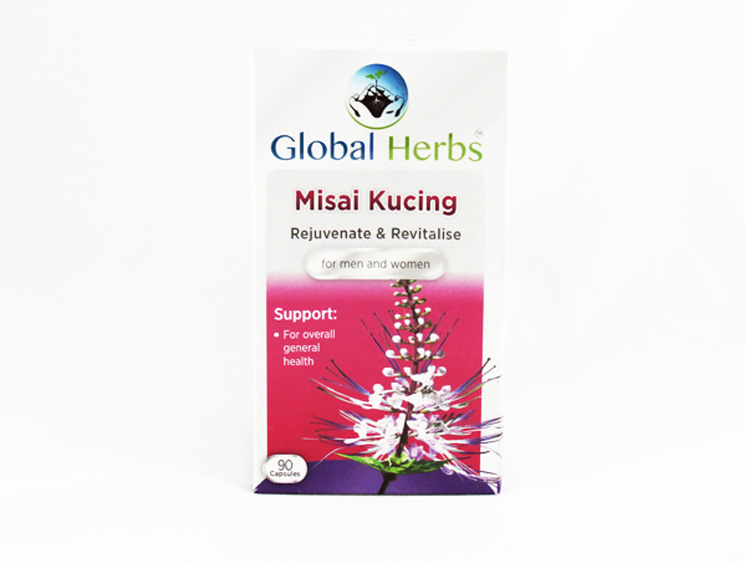 Global Herbs Misai Kucing - Halal Health Supplements