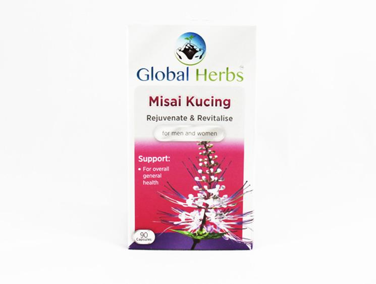 Global Herbs Misai Kucing - Halal Health Supplements