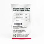 Global Herbs Daun Belalai Gajah + Daun Durian Belanda - Halal Health Supplements