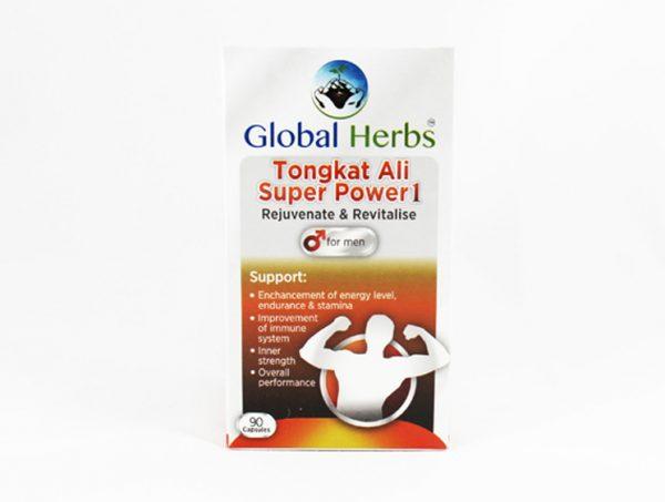 Global Herbs Tongkat Ali Super Power 1 - Halal Health Supplements