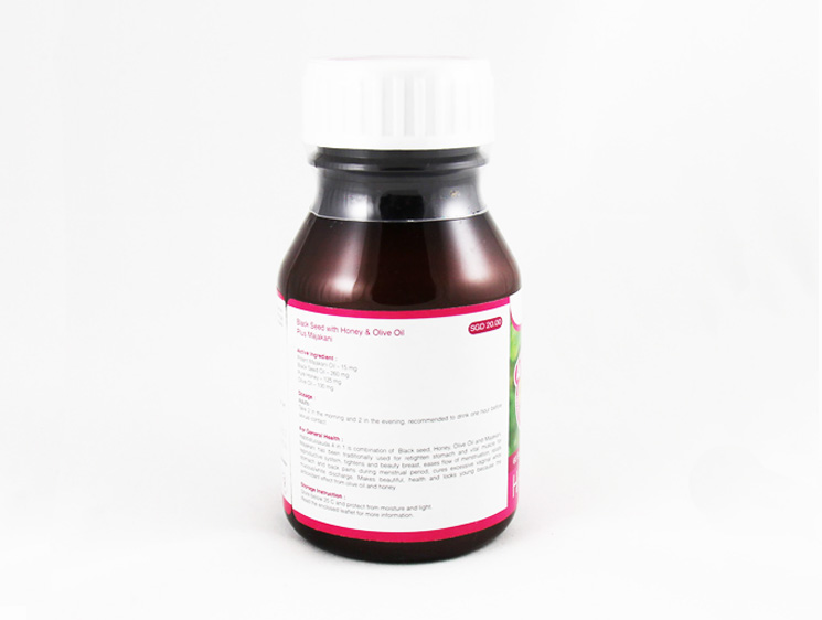 Habbatus Sauda (Nigella Sativa) + Majakani - Halal Health Supplements