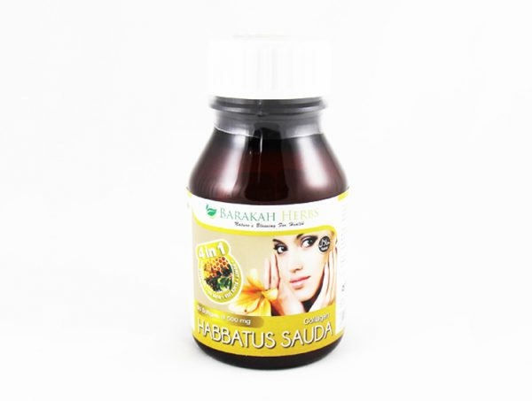 Habbatus Sauda (Nigella Sativa) + Collagen - Halal Health Supplements