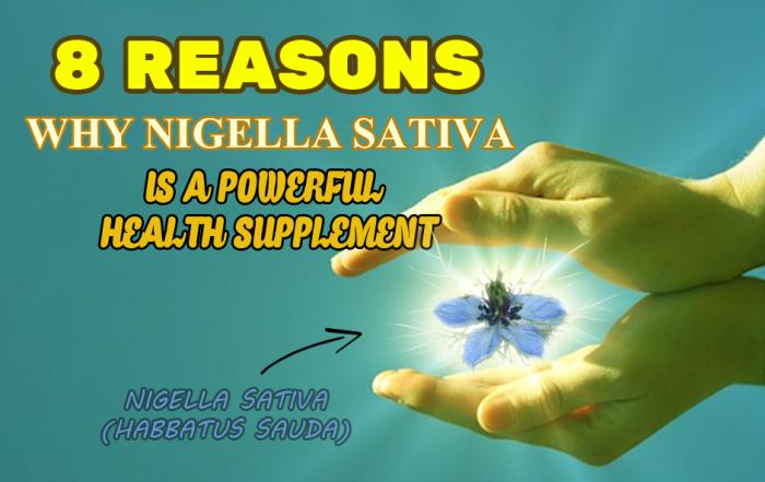 Nigella Sativa (Black Seed) Halal Health Supplements