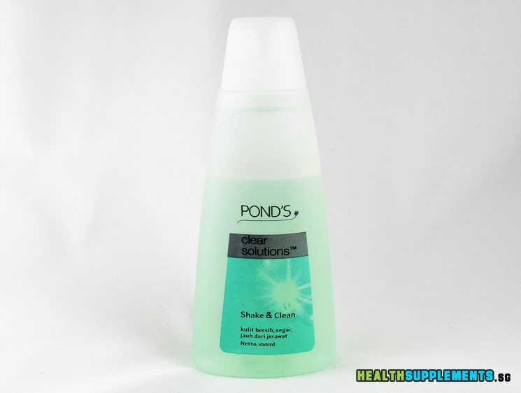 Pond 39 s clear solutions facial cleanser and toner 2 in 1 for Ponds products