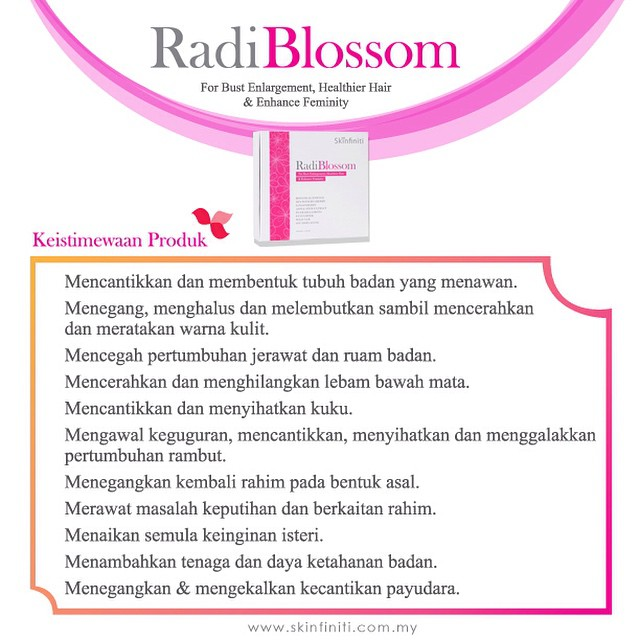 RadiBlossom Benefits 1