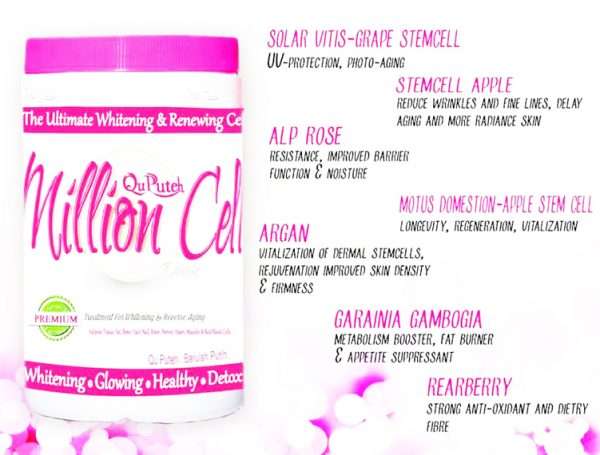 Qu Puteh Million Cells - Beauty and Halal Health Supplement