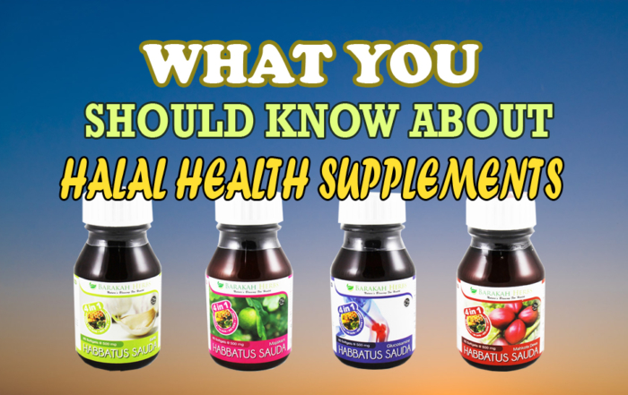Halal Health Supplements